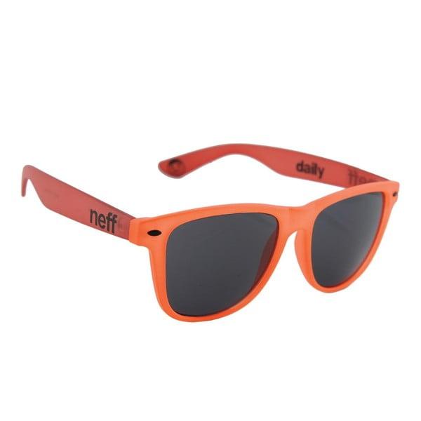Neff okulary przeciwsłoneczne Daily Orange Red