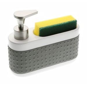 Dozownik do mydła ze stojakiem na gąbkę Versa Scourer