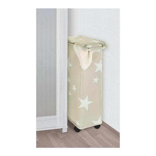 Beżowy kosz na pranie Wenko Corno Star, 44,4 l