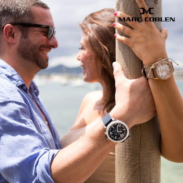 Zegarek męski Marc Coblen z dodatkowym paskiem i obręczą P20