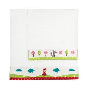 Zestaw 2 ręczników Pathway, 50x100 cm i 70x140 cm