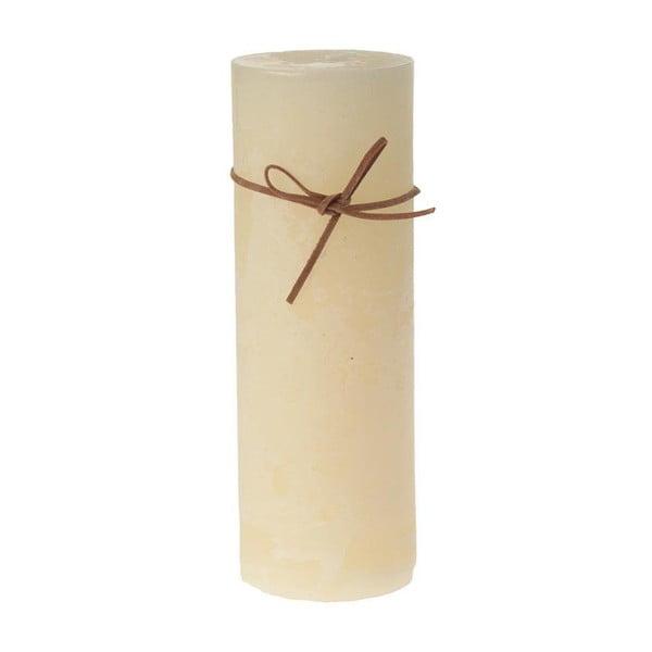 Świeczka Cream, 7x20 cm