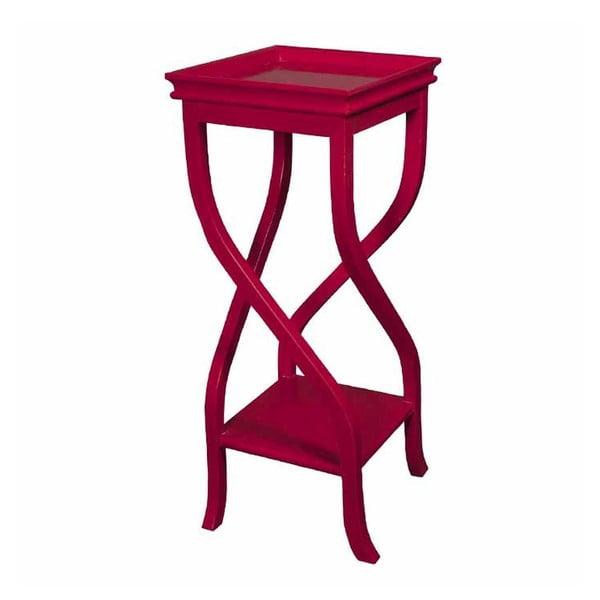 Stolik Kayla Red, 32x32x83 cm