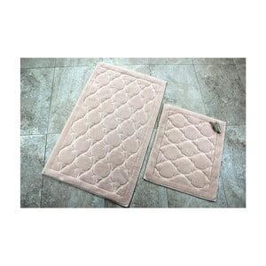 Zestaw 2 dywaników łazienkowych ze 100% bawełny Dante Powder