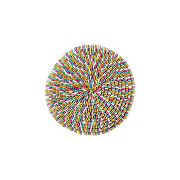 Wełniany dywan Wool Mat Bubble Multicolour, 75 cm
