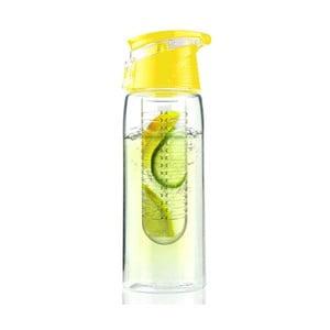 Butelka   Flavour It 2 Go, żółta