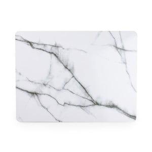 Biała mata stołowa Salt&Pepper Marble, 40 x 30 cm