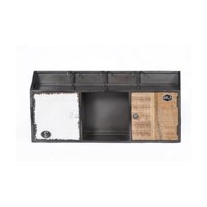 Półka z drewna mangowego SOB Vintage