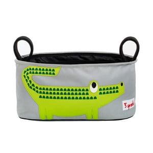 Organizer na wózek Sprouts, z krokodylem