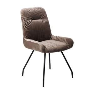 Brązowe krzesło do jadalni Kare Design Claw