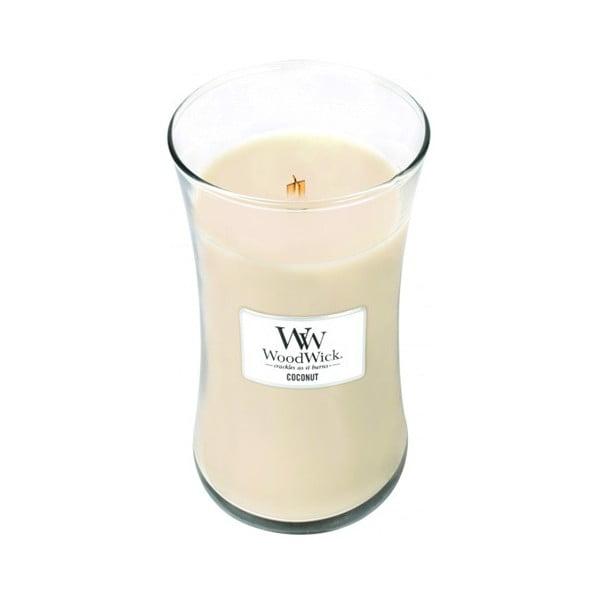 Świeczka zapachowa WoodWick Kokos, 609g