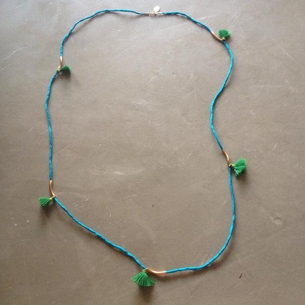 Długi naszyjnik/bransoletka Kasbah Turquoise