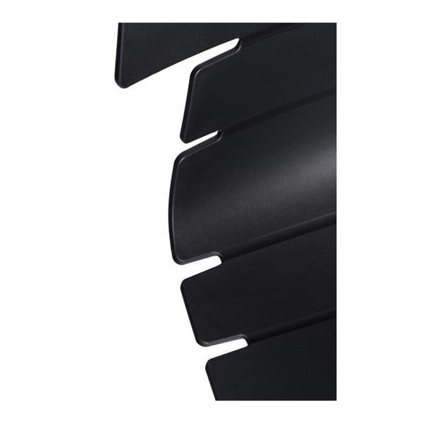 Zestaw 2 czarnych krzeseł D2 Techno One