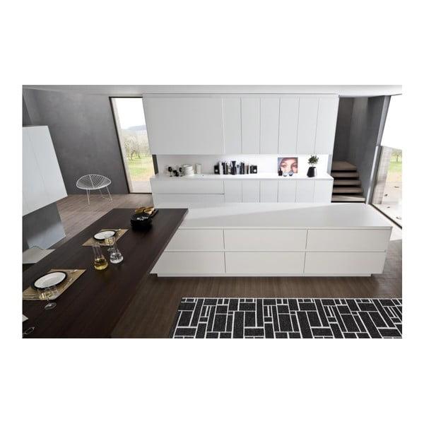 Wytrzymały dywan Dama V22, 60x200 cm