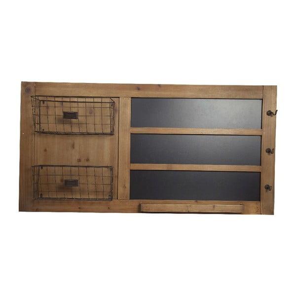 Drewniana tablica z koszykami Big Black