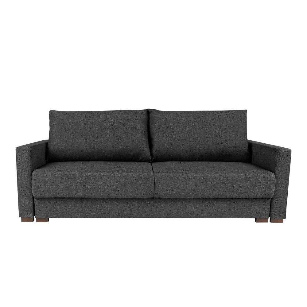 Szara 3-osobowa sofa rozkładana Melart Giovanni