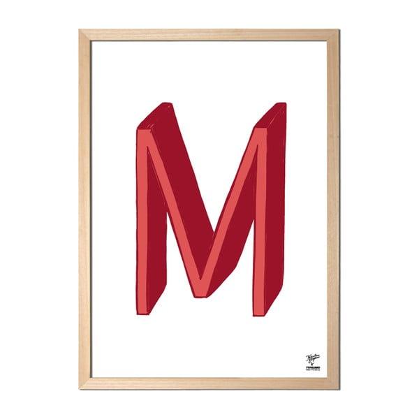 Plakat M designed by Karolina Stryková