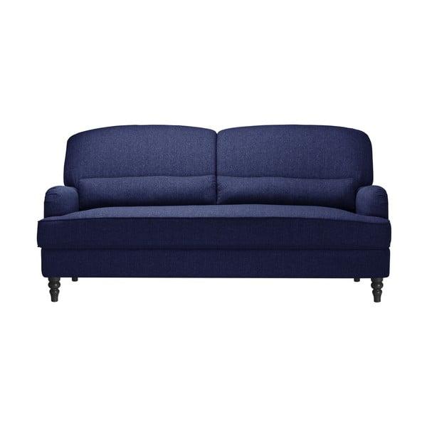 Granatowa 3-osobowa sofa Jalouse Maison Bella