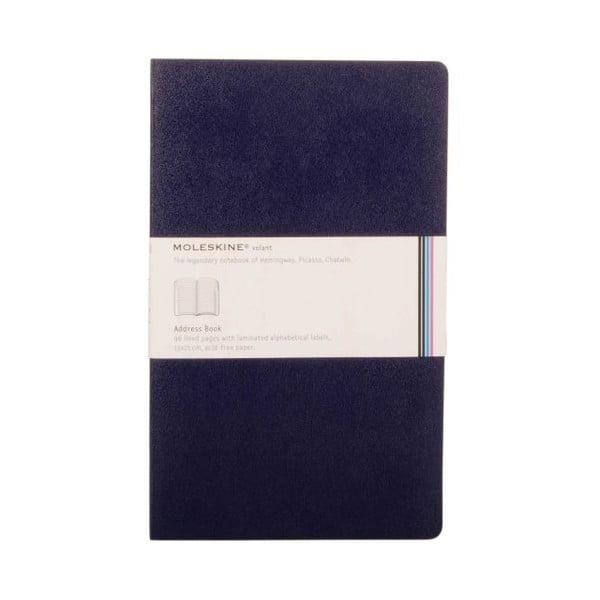 Książka adresowa Blue Volant L