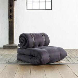 Fotel rozkładany Karup Buckle Up Gray