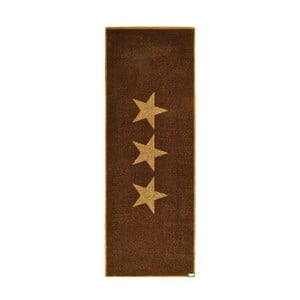 Chodnik Zala Living Stars Brown, 67x180 cm