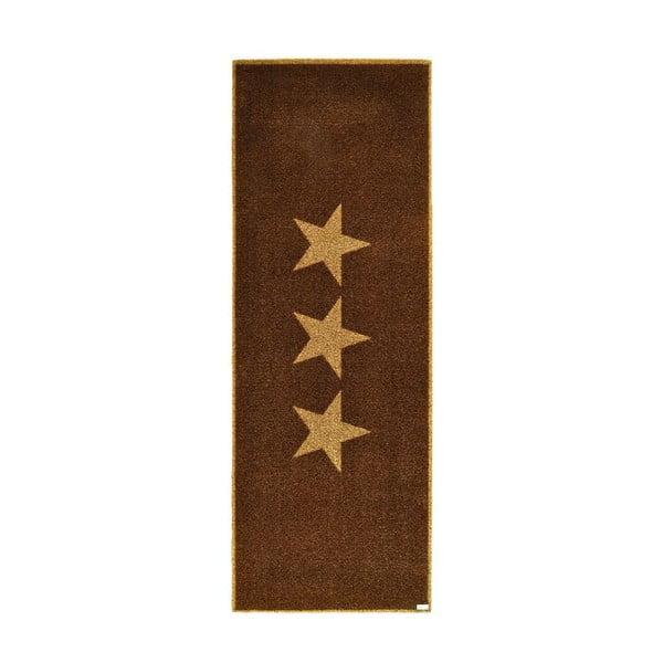 Chodnik Zala Living Stars Brown, 67x180cm