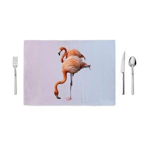 Mata kuchenna Home de Bleu Flamingos, 35x49cm