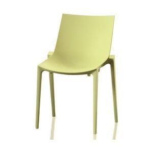 Jasnozielone krzesło Magis Zartan