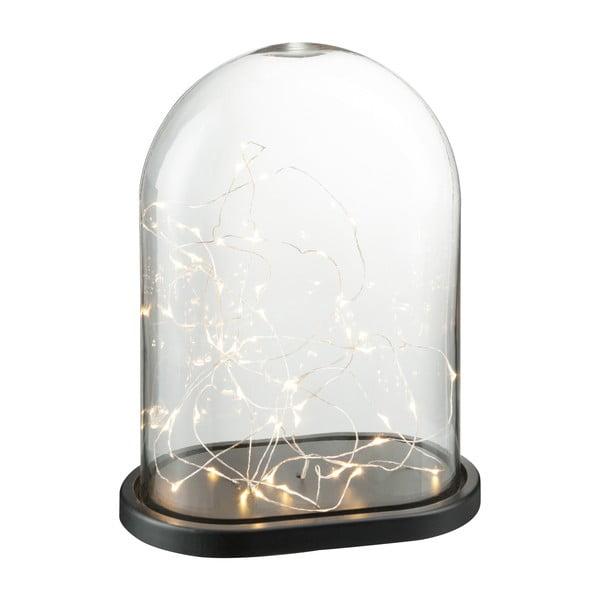 Dekoracyjny   klosz z żarówkami LED Bell, wysokość 37 cm
