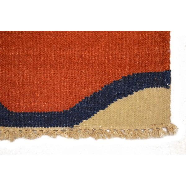 Dywan tkany ręcznie Kilim Mrinal, 140x200cm