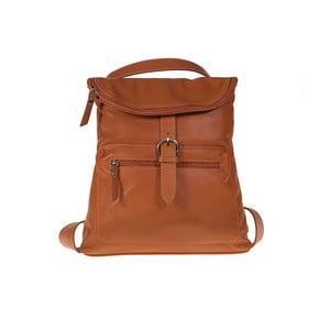 Brązowy plecak skórzany Giulia Bags Euphemia