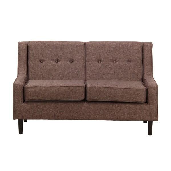 Sofa dwuosobowa Ives Kamerun Brown
