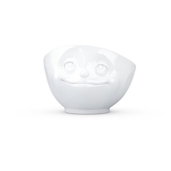 Zakochana miska, biała