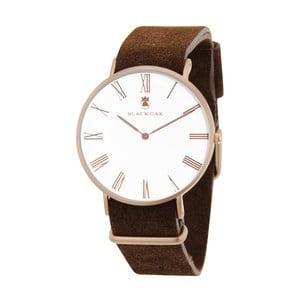 Ciemnobrązowy zegarek męski Black Oak Elegant