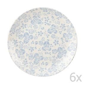 Komplet 6 talerzy Fledgling White, 26 cm