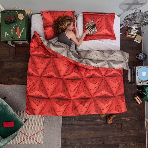 Pościel Snurk Monogami Red 200x200 cm