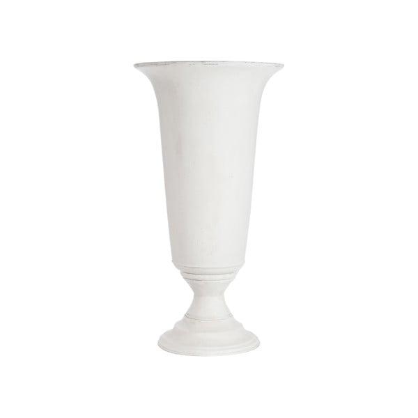 Ceramiczny wazon Mat White, 82 cm
