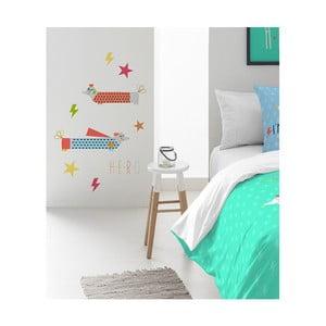 Naklejka dekoracyjna na ścianę Pooch You Are Blue, 30x42cm
