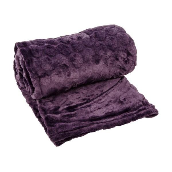 Pled Softy Violet, 125x150 cm