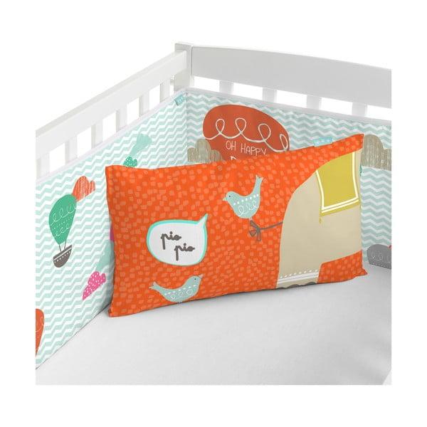 Ochraniacz do łóżeczka Elephant Parade, 60x60x60 cm
