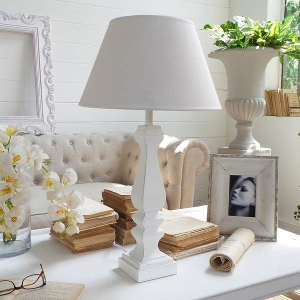 Lampa stołowa Antique White