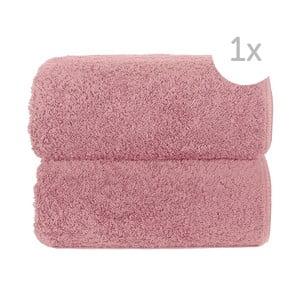 Różowy ręcznik Graccioza Loop, 30x50cm