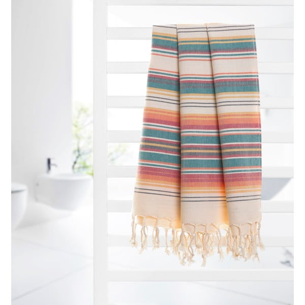 Ręcznik hammam Autumn, pomarańczowy