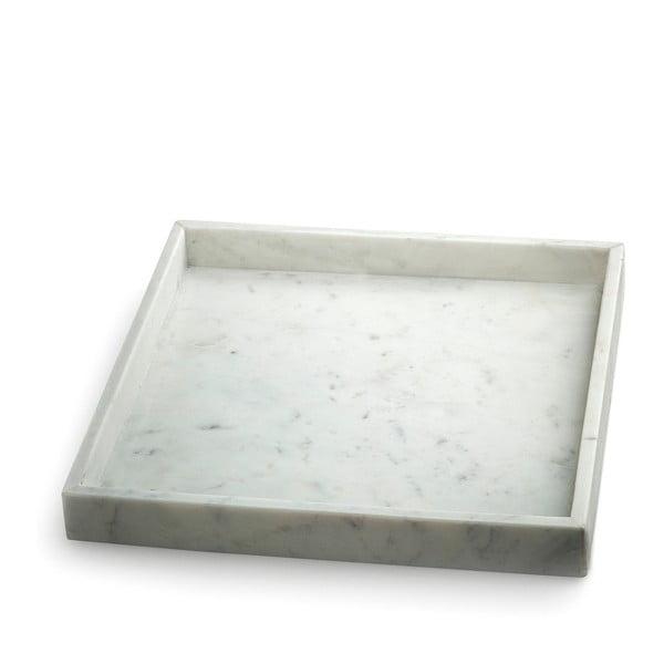 Biała taca marmurowa NORDSTJERNE