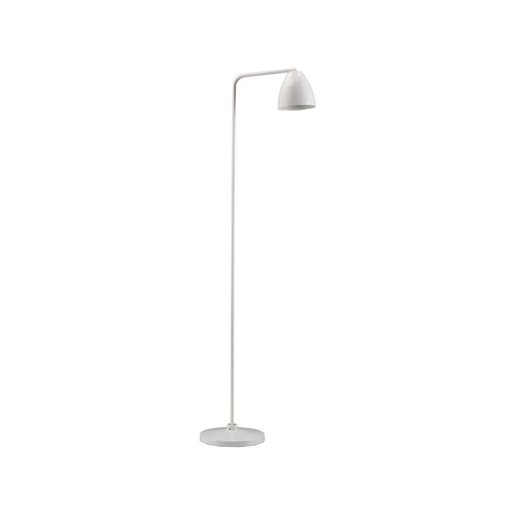 Biała lampa stojąca Design Twist Cervasca