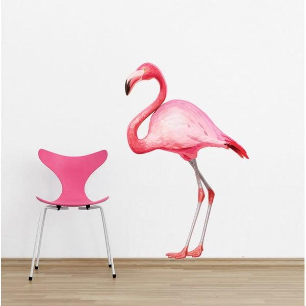 Naklejka Flamingo, 90x60 cm