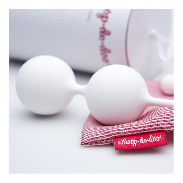 Białe designerskie kulki gejszy Whoop-de-doo, 65 g