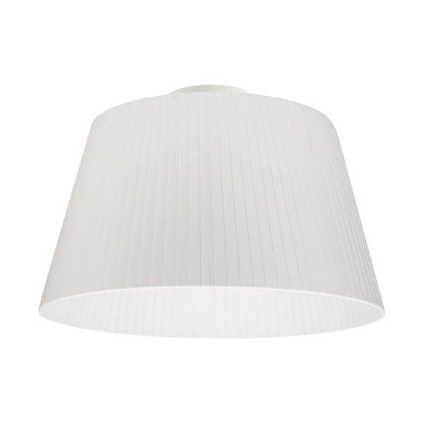 Biała lampa sufitowa Bulb Attack Dos Plisado,⌀36cm