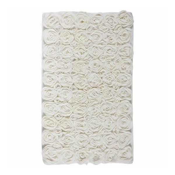 Beżowy dywanik łazienkowy Aquanova Rose Ivory, 70x120 cm