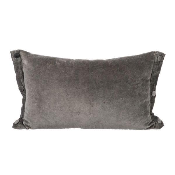 Poduszka Velour Grey, 30x50 cm